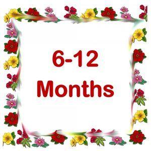 Sizes 6 - 12 Months